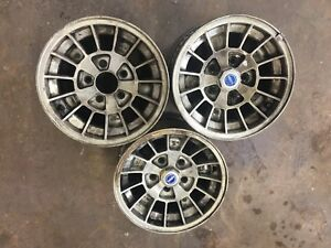 3 Used Ronal Kleeblatt Wheels 7jx14 H2 E10 Kba 40031 4705 Bmw Mercedes