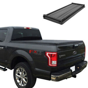 Jdmspeed Tri fold Tonneau Cover For 2015 2018 Ford F 150 5 5 Bed