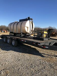 Mud Mixing Water Trailer Directional Drill Ditch Witch Vermeer