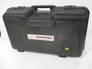 Used Magnum Isi Breathing Apparatus Kit Tank Mask Non Padded Harness Case 9e
