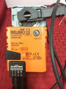 Belimo Lrb24 sr Actuator modulating Non spring Return New In Box Old Inventory