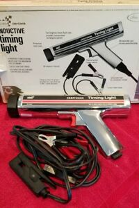 Timing Light Sears Roebuck Company Craftsman Chrome Inductive Model 28 2134