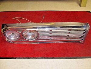 1959 Edsel Corsair Ranger Chrome Right Grille Headlight Bezel Assemble