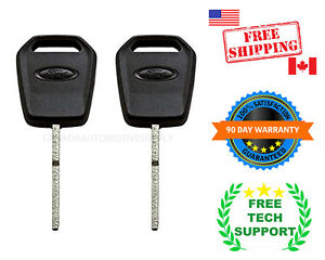 2 New Strattec Transponder High security 128 chip Key For Ford 164 r8128 5923293