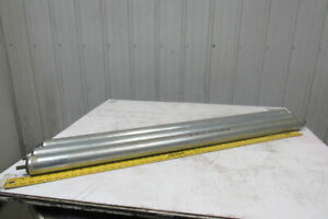 2 5 Od 47 5 16 bf 47 Face Gravity Conveyor Roller 7 16 Hex Axle Lot Of 3