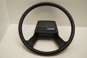 1984 Toyota Celica Gt Black Steering Wheel