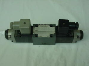 Bosch Rexroth Hydronorama 4we6e51 ag24nz4 Hydraulic Directional Solenoid Valve