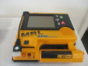 Mrl Aed Defibrillator 972213e Battery 1 2 Charge Used 2of3