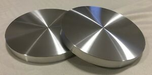 Aluminum Round Disc 6 1 8 Dia Bar Circle Plate 2 Pcs 3 4 Thick flat nice