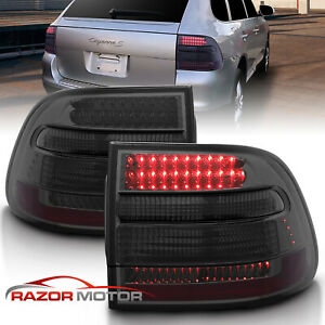 2003 2004 2005 2006 Porsche Cayenne Suv Smoke Led Brake Tail Lights Pair