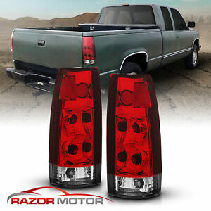 1988 1999 Chevy C K Gmc 1500 2500 3500 Cadillac Escalade Rear Brake Tail Lights