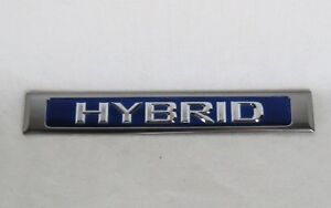 Lexus Es300h Hybrid Emblem 13 15 Oem Rear Door Badge Back Sign Symbol Logo Blue