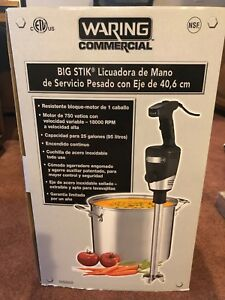 Waring Commercial 16 Heavy duty Big Stik Immersion Blender Wsb60