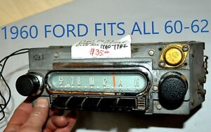 Old Ford Fomoco Classic 04mf Vintage Original Car Dash Radio Made In Usa