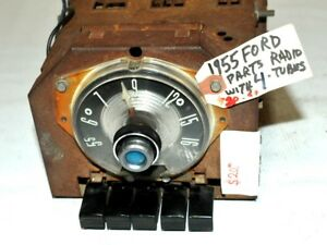 1955 Old Ford Fomoco Classic Retro Vintage Original Car Dash Parts Radio Usa