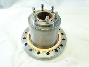 Varian Vacuum Fitting 6 Reverse Flange To 2 3 4 Cf Reducer W Copper Gaskets