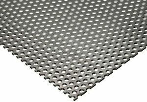 Online Metal Supply 304 Stainless Steel Perforated Sheet Thickness 0 035 20 G