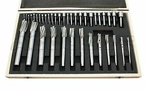 Accusizetools 39 Pcs set Hss Interchangeable Pilot Counterbore Set 500s a000