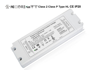 60w Triac Dimmable 110 277vac Constant Voltage Led Driver Pwm Signal