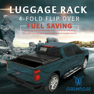 Fit For 2009 2014 Ford F 150 5 5ft Bed Tyger T3 Tri Fold Tonneau Cover Jdmspeed