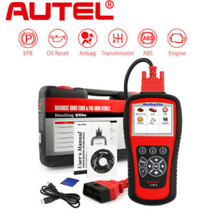 Autel Md802 Auto Diagnostic Scan Tool Code Reader Abs Srs Epb Engine Than Al619