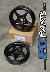 Black Lenso Xpd Drag Race Wheels Rims 15x3 5 4x100 Civic Integra Crx Skinnies