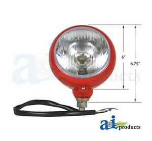 A And I Hl300r Headlamp Assembly 12 Volt For Massey Ferguson Tractor