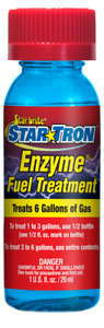 Star Tron 14311 Enzyme Fuel Treatment Small Engine Formula 1 Oz