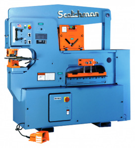 Scotchman 90 Ton 3 station Hydraulic Ironworker 9012 24m