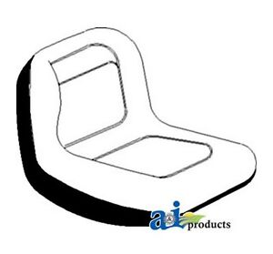 Ai Gy20554 Lawn Tractor Seat Fits John Deere Riding Mower