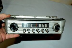 Old Ford Fomoco Classic Retro Vintage Original Car Dash Radio Made In Usa