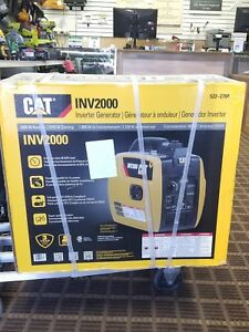 New Cat Inv2000 1800 Watt Portable Inverter Generator 522 2700 fast Shipping
