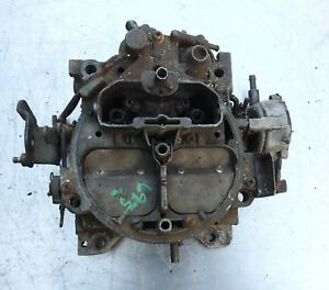 1978 79 Buick Chevy 5 0 5 7l Quadrajet Carburetor 17059507