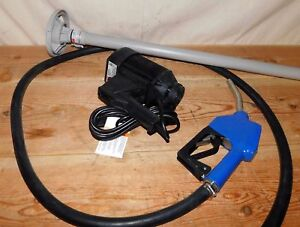 Dayton 6gkr0 Electric Operated Drum Pump 1hp Centrifugal Polypropylene 11 Gpm