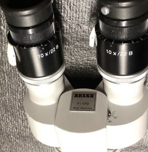 Zeiss Surgical Microscope Teaching Attachment Assistant F170