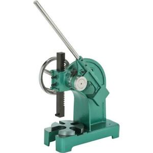 T1184 Grizzly 2 ton Ratcheting Arbor Press