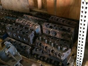 Ford 351 Cleveland 2v Open Chamber Cylinder Heads Used As Is