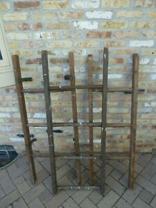 Decorative Vintage Old Wooden Ladder 4 Ft 48 For Use In Decorating