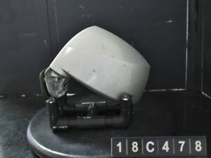 2005 2008 Hyundai Tiburon Driver Rear View Mirror Side Door Silver 18c478