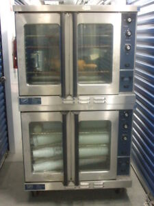Duke Dual Double Stack Electric Commercial Convection Oven Bakery Pizza
