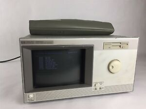 Hp 16500c Logic Analysis Prototype Analyzer System 5 Slot Touchscreen Mainframe
