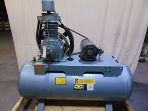 Pacemaker Industrial 10 Hp 120 Gallon Horizontal Air Compressor