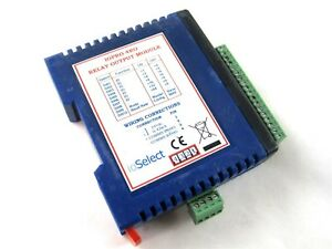 Ioselect Iopro 4ro Relay Output Module 4 channel Spst Modbus Rtu Io Isolation