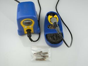 Hakko Fx888d Digital Soldering Station W Fx8801 Soldering Iron Extra Tips