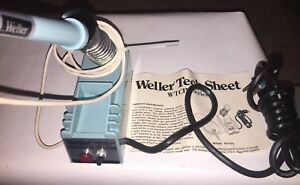 Weller Model Wtcpl Controlled Output Soldering Station Iron Stand W tcp l