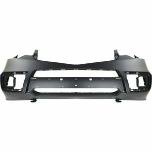 Bumper Cover For 2010 2011 Acura Rdx Front Paint To Match W fog Light Holes Capa
