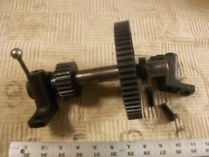 Steel Alloy Back Gear Assembly 10 250x From Vintage Atlas 10 Metal Lathe