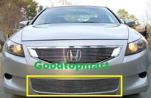 For Honda Accord 2 Door Coupe 08 09 10 Bumper Billet Grille Insert 2008 09 2010