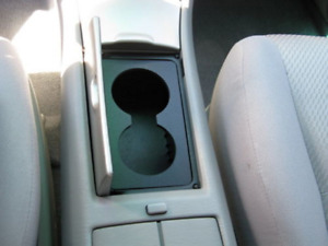 Console Cup Holder Insert Dual Custom Made Toyota Highlander 02 07 Free Shipping
