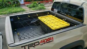 Cargo Net Bed Tie Down Hooks For Toyota Tacoma Mid Size Long Bed 60 X 98 New